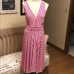 Philosophy Pink/White Striped Dress